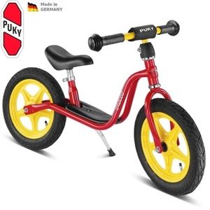 Rowerek bez pedałów PUKY Learner Bike Standard LR 1L czerwone, Puky
