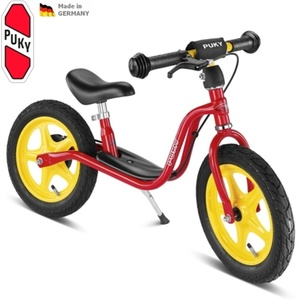 Rowerek bez pedałów z hamulcem PUKY Learner Bike LR 1L BR czerwone, Puky