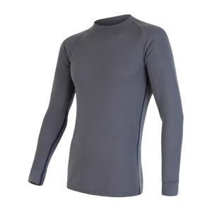Męski zestaw Sensor ORIGINAL ACTIVE SET koszula + majtki siwy 17200050, Sensor