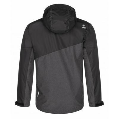 Funkcjonalny dla mężczyzn kurtka outdoorowa Kilpi ORLETI-M ciemnoszary, Kilpi