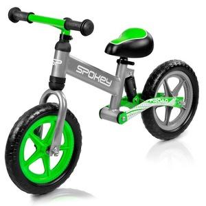 Dziecięce  rowerek bez pedałów Spokey OFF-ROAD szaro-zielony, Spokey