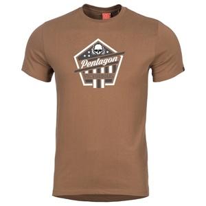 Męskie koszulka PENTAGON® Victorious brunatne, Pentagon
