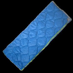 Śpiwór worek YATE Salem dekowy / niebieski, Yate