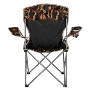 Składane krzesło z oparcia HIGHLANDER WIĘCEJ moro, Highlander