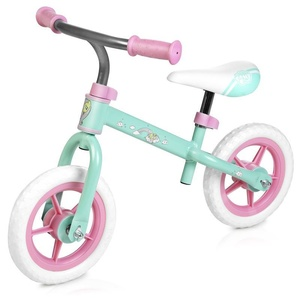 Dziecięce  rowerek bez pedałów Spokey HASBRO ELFIC pastel zielono-różowy, Spokey