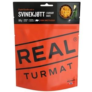 Real Turmat Wieprzowina z ryżą w słodko-kwaśny sosie, 127 g, Real Turmat