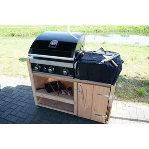Wbudowany gazowy grill GrandHall PREMIUM GT3, Grandhall