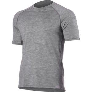 Merino koszulka Lasting QUIDO 8484 szare wełniane