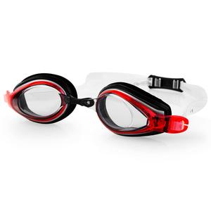 na basen okulary Spokey KOBRA czarno-czerwone, Spokey