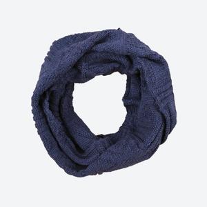 Dziany szalik-komin Kama S20 108 ciemno niebieska, Kama