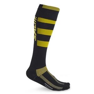skarpety SALMING CoolFeel Teamsock Long Black/Yellow, Salming