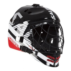 Kask Salming Core Helmet Black/White/Red, Salming