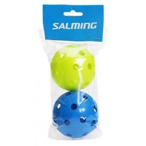 Zestaw unihokejowych piłeczek Salming Flow 2-pack, Salming