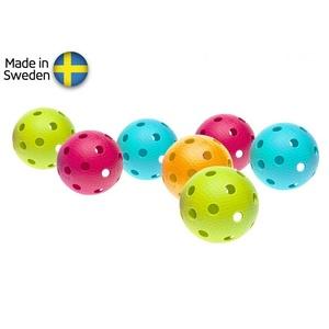 Zestaw unihokejowych piłeczek Salming Aero Ball 10-pack, colour mix, Salming