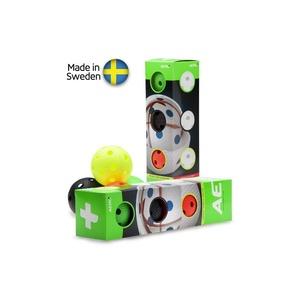 Zestaw unihokejowych piłeczek Salming Aero Plus Ball 4-pack, colour mix, Salming