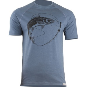 Merino koszulka Lasting ŁOSOŚ 5656 niebieskie męskie, Lasting