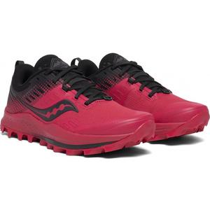 Męskie do biegania buty Saucony Wędrowny 10 Red / Black, Saucony