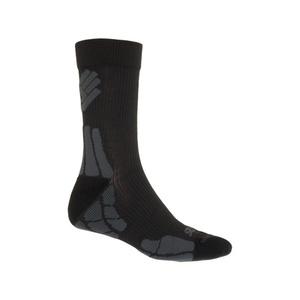 Skarpety Sensor Hiking New Merino Wool czarny / szary 15200052