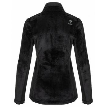 Ciepła bluza damska bez kaptura Kilpi SKATI-W czarny, Kilpi