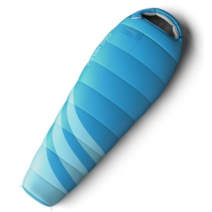 Set Śpiwór worek Husky Ladies Majesty -10°C niebieski + Mata samodmuchająca Husky Akord  1,8 niebieska Darmowe, Husky