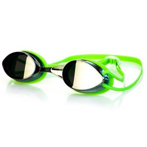 na basen okulary Spokey SPARKI zielone, lustro szkła, Spokey
