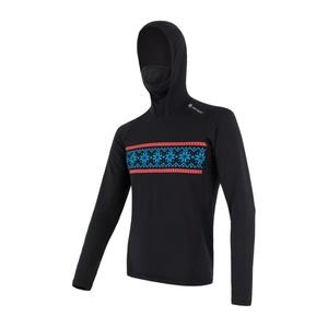 Męskie koszulka Sensor THERMO czarny / wzór 17200059, Sensor