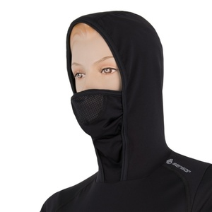 Damskie koszulka Sensor THERMO czarny / wzór 17200061, Sensor