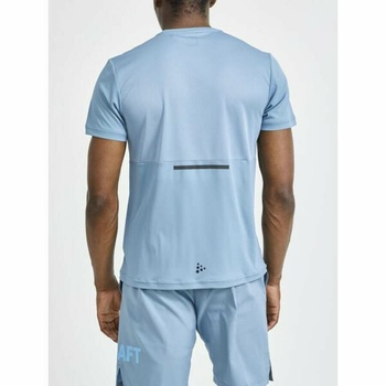Męskie koszulka CRAFT Core Charge 1910664-342000 niebieska
