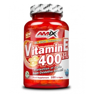 Amix Witamin E 400 IU 100 kapsułek, Amix