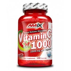 Amix Witamin C 1000mg, 100 kapsułek, Amix